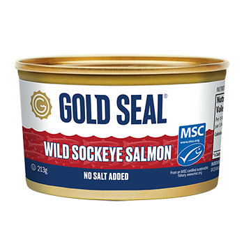 Sockeye Salmon No Salt Added 213g E
