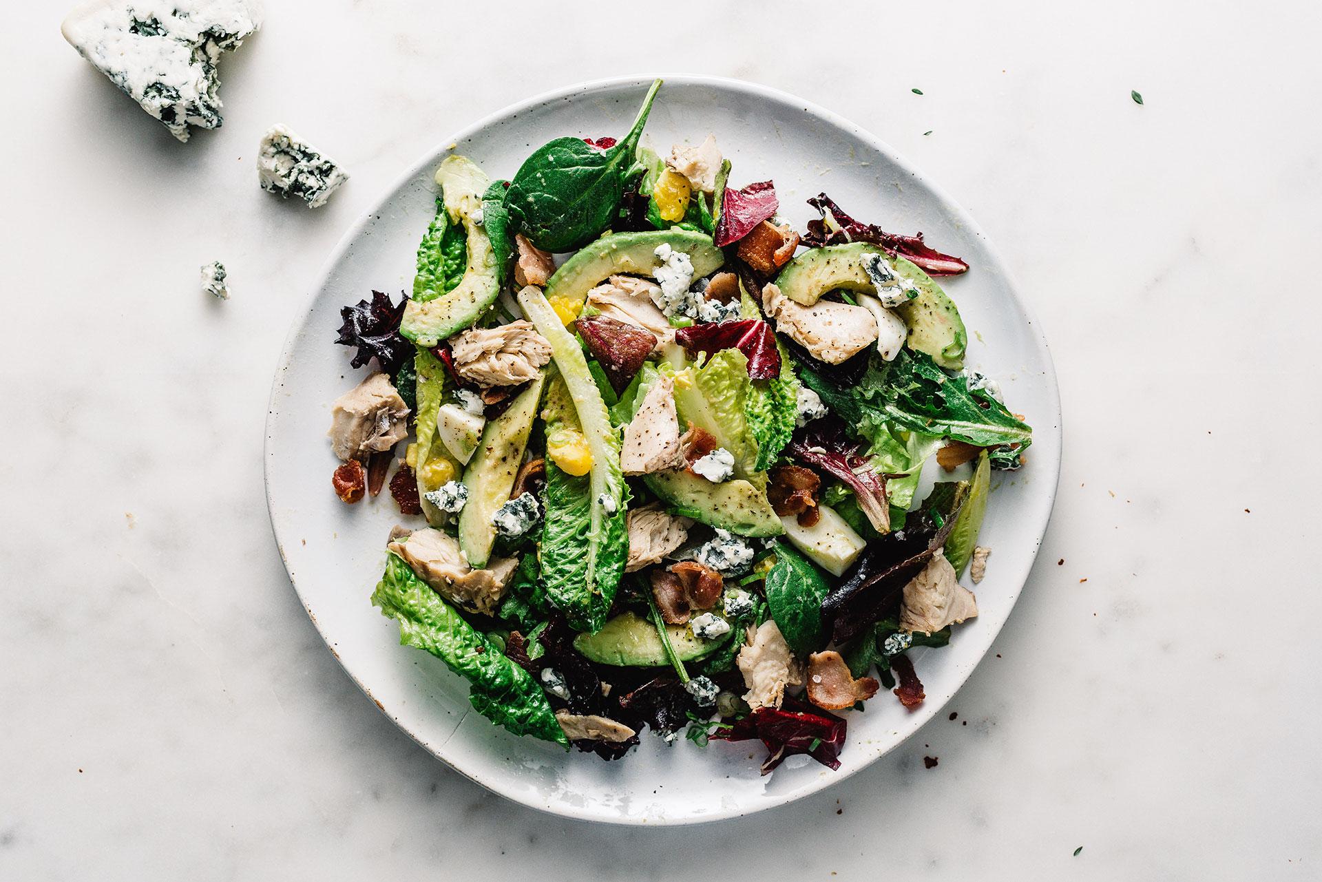 Salade Cobb réinventée