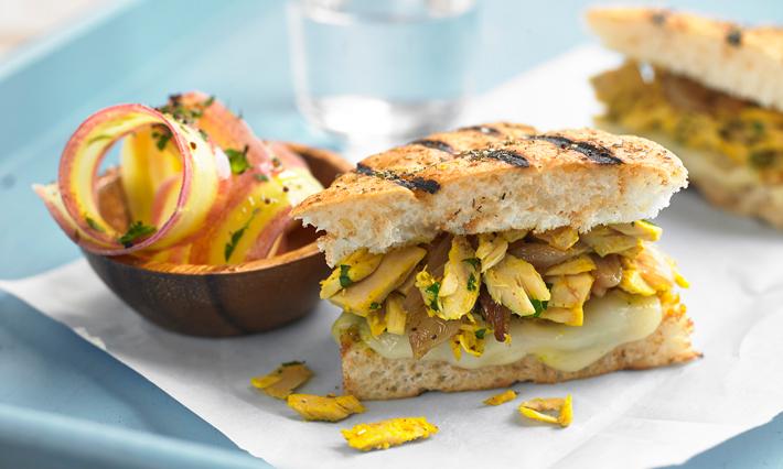 Tuna and Curry Mayo Panini