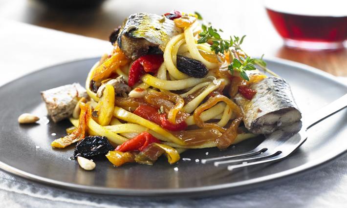 Sardines, Sicilian-Style Pasta