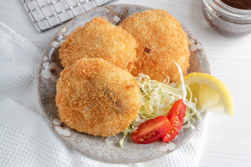 3 Wild Mackerel Potato Croquettes