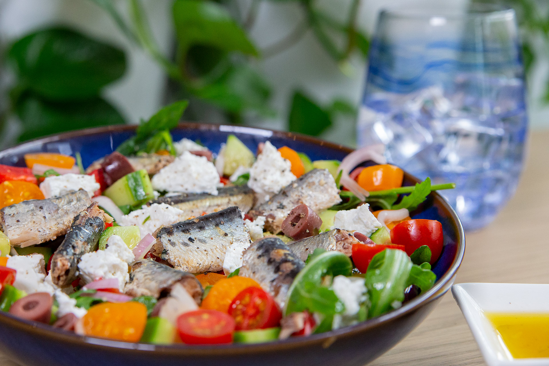 Greek Sardine Salad