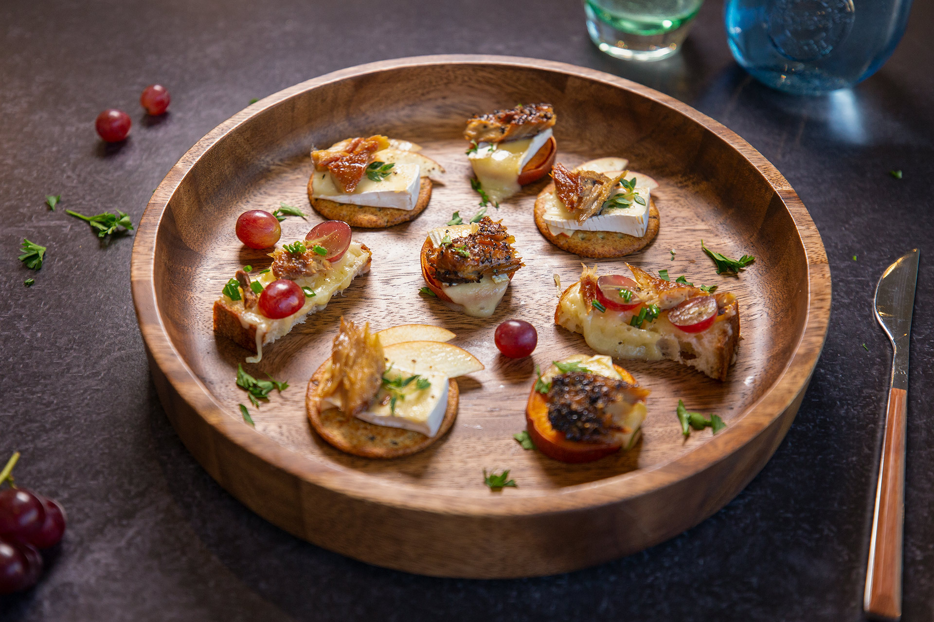 Party Appetizers 3 Ways