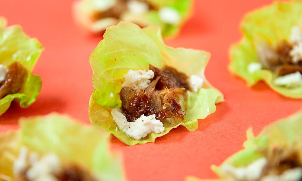 Smoked-Mackerel-Goat-cheese-and-Honey-Lettuce-Wraps-2