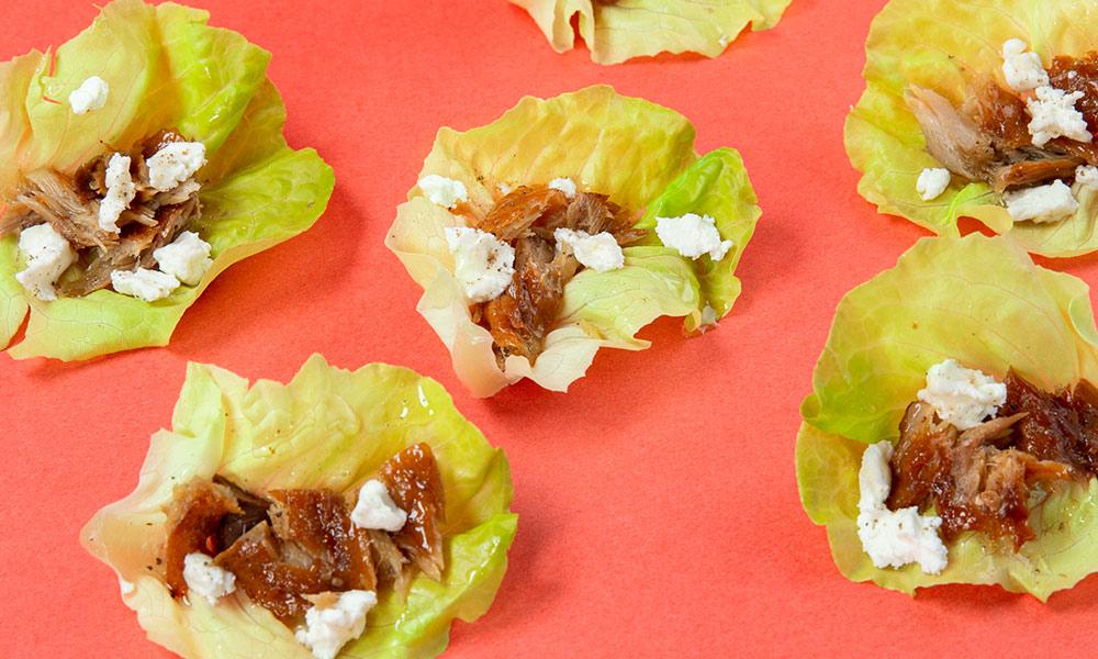 Smoked-Mackerel-Goat-cheese-and-Honey-Lettuce-Wraps-3