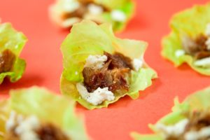 Smoked-Mackerel-Goat-cheese-and-Honey-Lettuce-Wraps-FEATURE