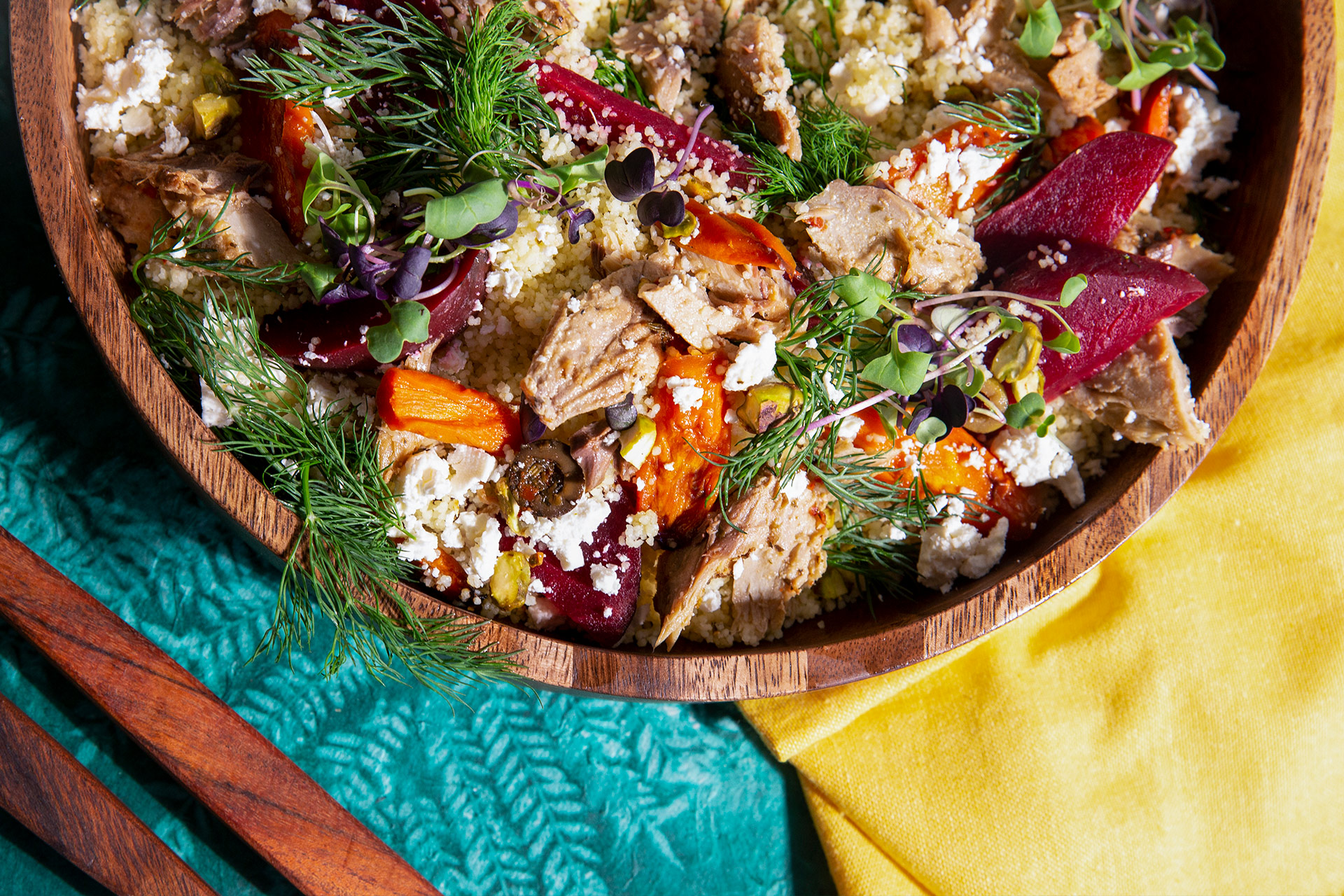 Middle Eastern Mackerel Salad