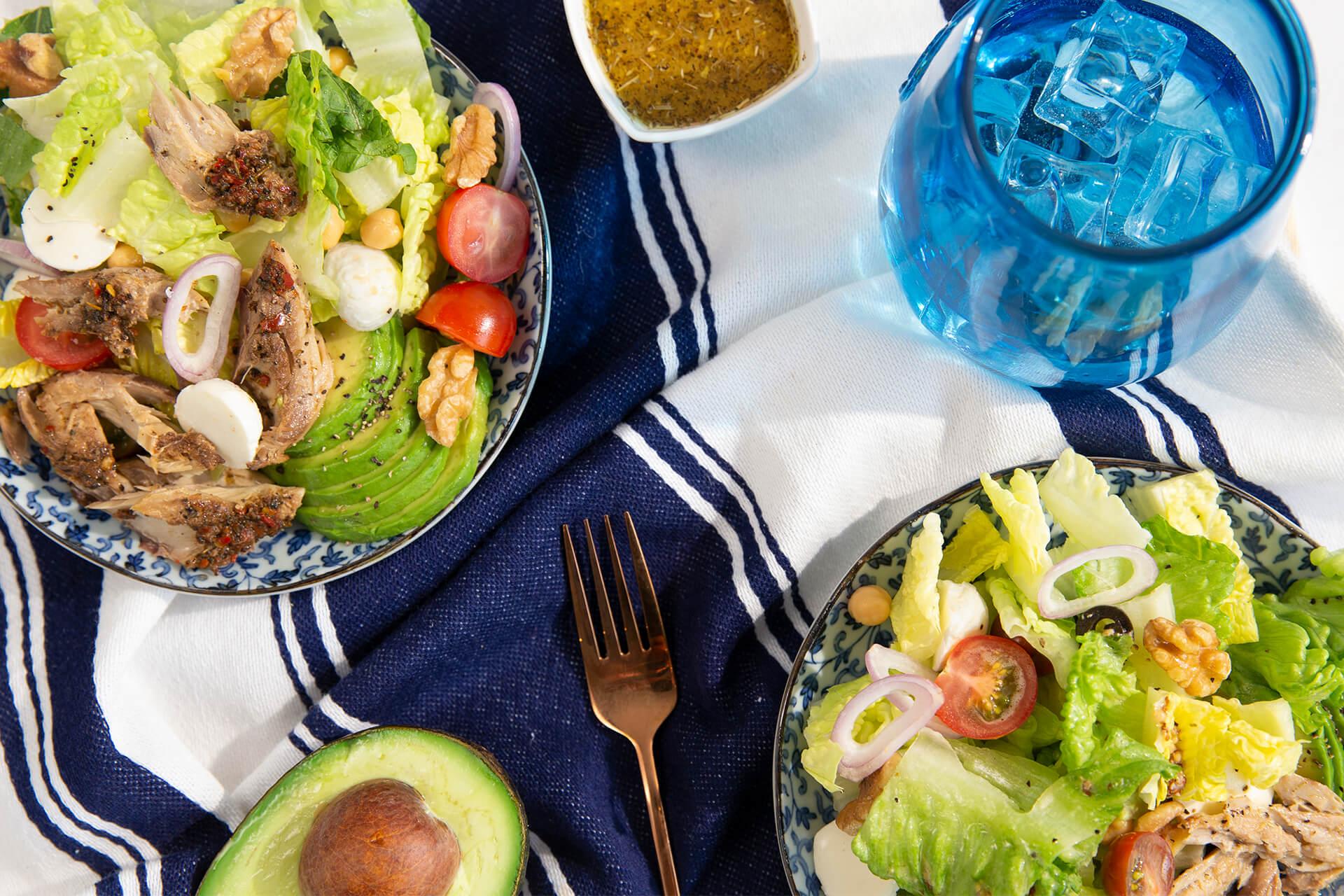 Italian Mackerel Salad