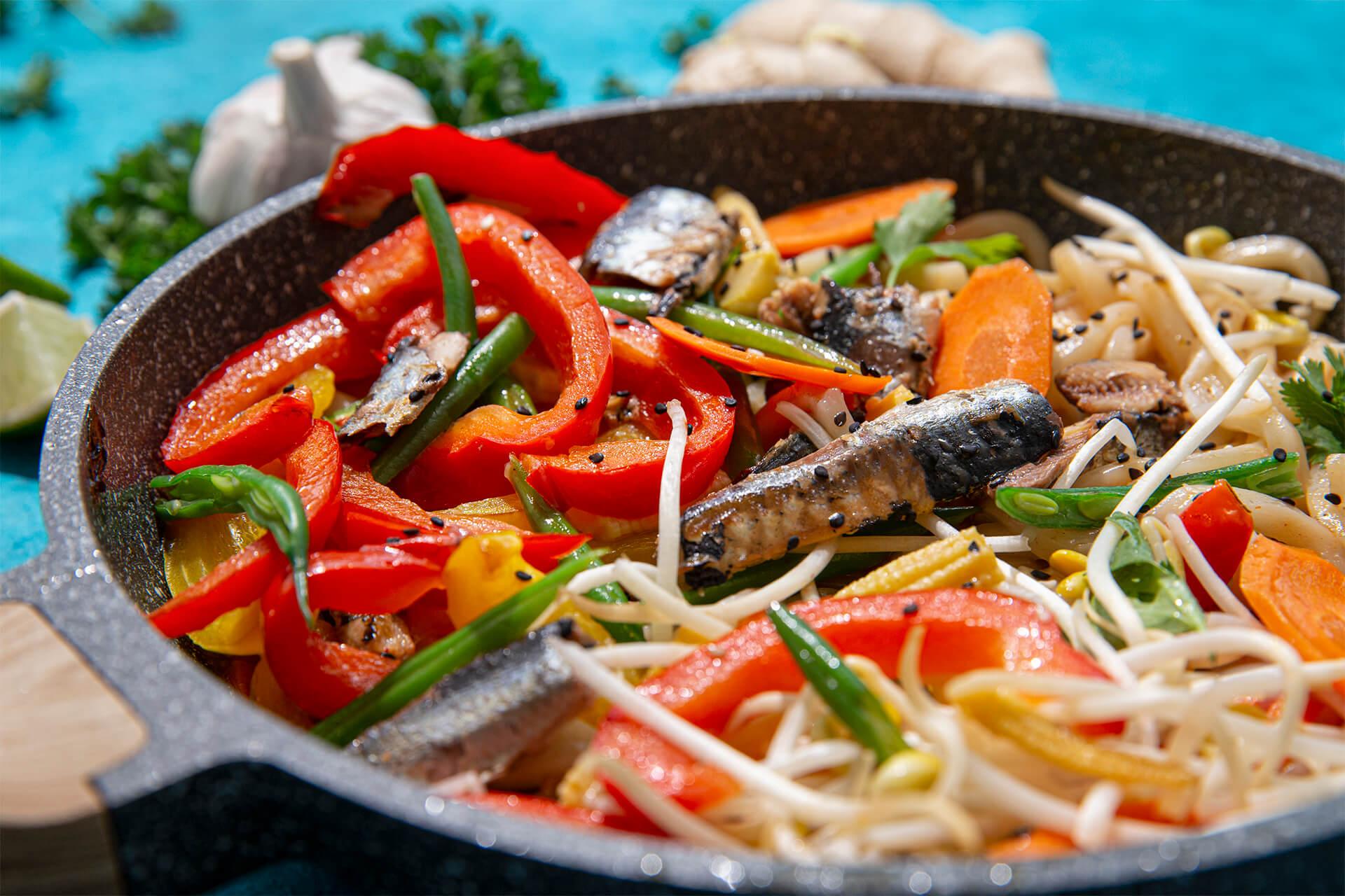 Sardine Stir Fry