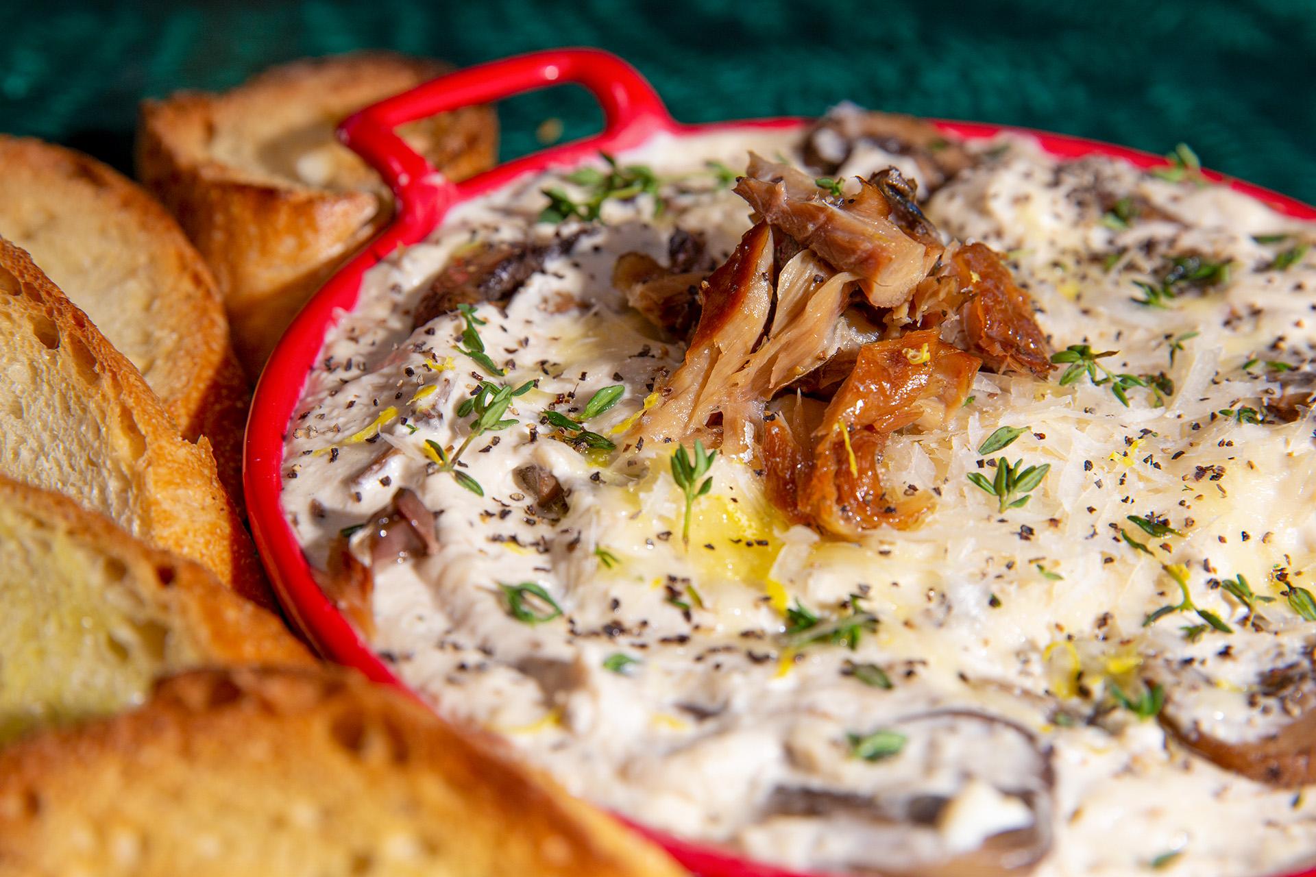 Smoked Mackerel & Mushroom Dip